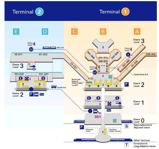 Аэропорт франкфурт на майне схема фото 594